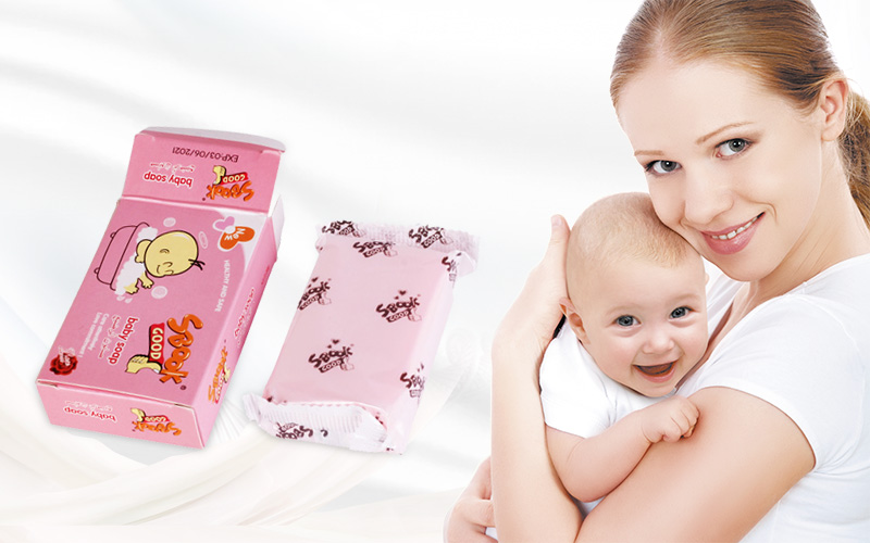 80g Natural mild solid bath hand baby soap with Moisturizer