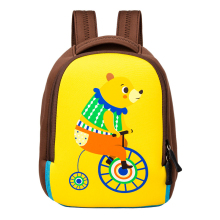 2019 new Children's kindergarten school bag Primary school boy and girl cartoon animal light SBRrubber neoprene backpack SLET202