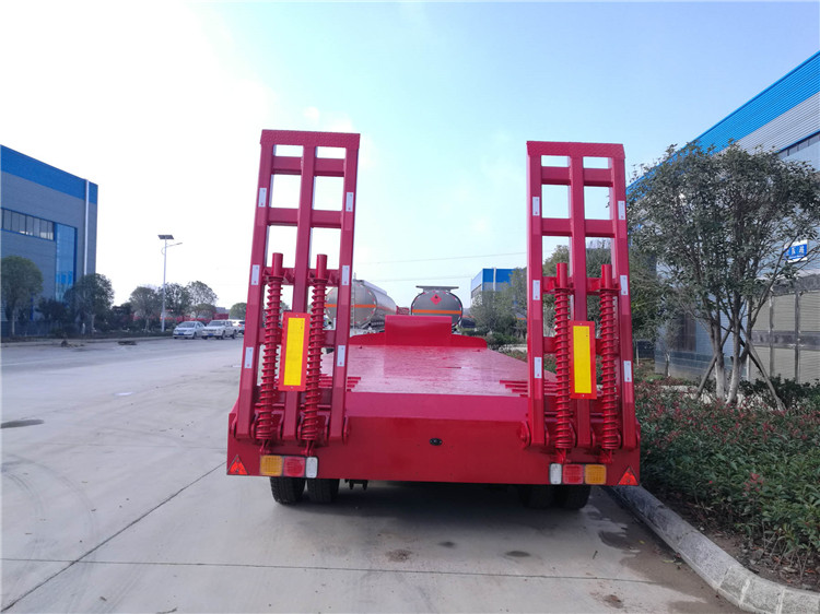 CLW Best Sell Movable CLW940001 Low bed Semi-Trailer