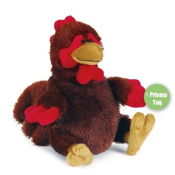 Brown realistic cuddlies baby girl bean hen chick Rooster chicken soft custom farm animals stuffed plush toy