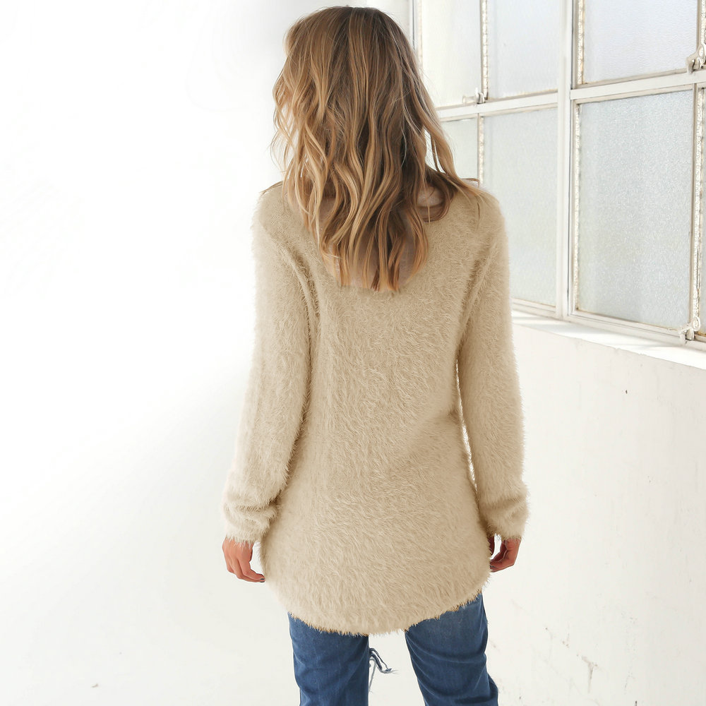 2019 Explosion in Spring, Autumn and Winter for Fashion Pure Long Sleeve Woman's Sweater Top