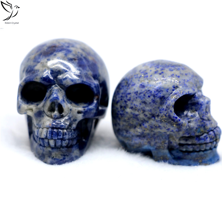 Easter Gifts Natural Wholesale Carved Blue Spot Stone Crystal Skulls For Home Decoration Buy Chinese Fengshui Ornaments Crystal Skulls Crystal Skulls For Sale Product On Alibaba Com