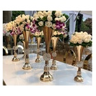 LK20191021-5 wedding table gold centerpiece decoration