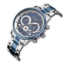 Мужские часы LONGBO, Роскошные Кварцевые часы с хронографом, автоматические кварцевые часы для мужчин, Relogio Masculino(Китай)