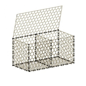 Quality galvanized gabion baskets for wire gabion wall