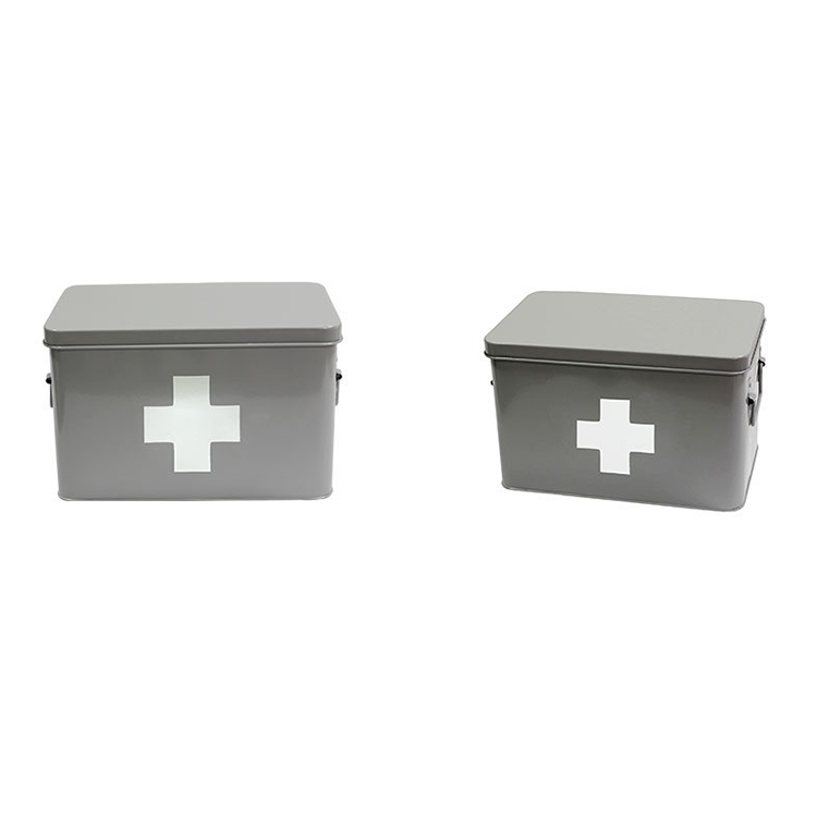 Medical Metal Portable High Capacity Medicine Chest Design