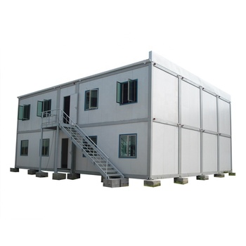Economic Design 20 ft Flat Pack Container House Sandwich Panel Prefabricated Living House