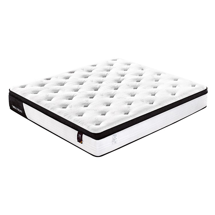 Soft Queen King Size Bed Pocket Spring Memory Foam Mattress Sale