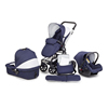 3 in 1 Travel system stroller baby stroller with carrycot and car seat
