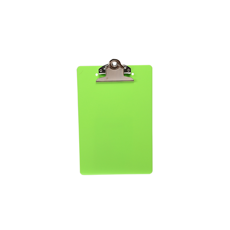 Fancy color  A5 size with butterfly clip PS clipboard