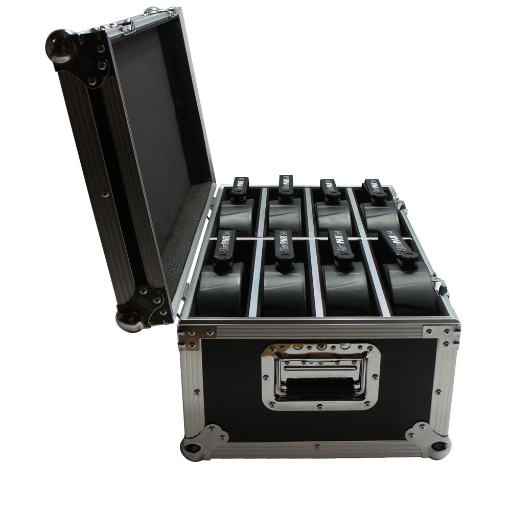 Lighting Flight Case for Chauvet light SlimPAR 64 RGBA