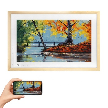 BOE igallery 21.5'' Large size wifi full hd 1080P lcd electronic art digital photo frame with remote control functions