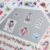 Creative Costume Beauty Die Cut Stickers, Cherry Blossom Washi Sticker For DIY Diary