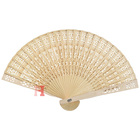 Custom Sandalwood Carving Classical Fragrant Wood Folding Hand Fan