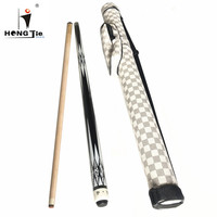 Hongjie high quality price low diamond billiard cue pool cue with cue case