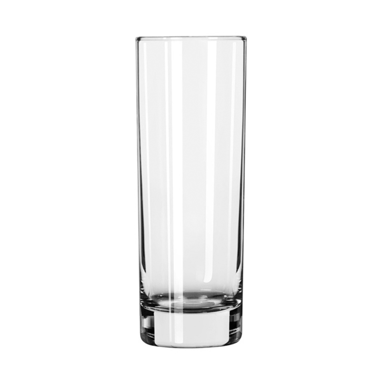 Cheap 10.5oz tall and thin Collins <strong>glass</strong> and drinking cup wholesale