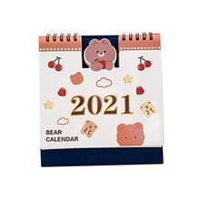 Новый 2020 -2021 настольный мини-календарь, органайзер, предназначенный для установки целей и получения вещей, Goal Journal для домашнего офиса(Китай)