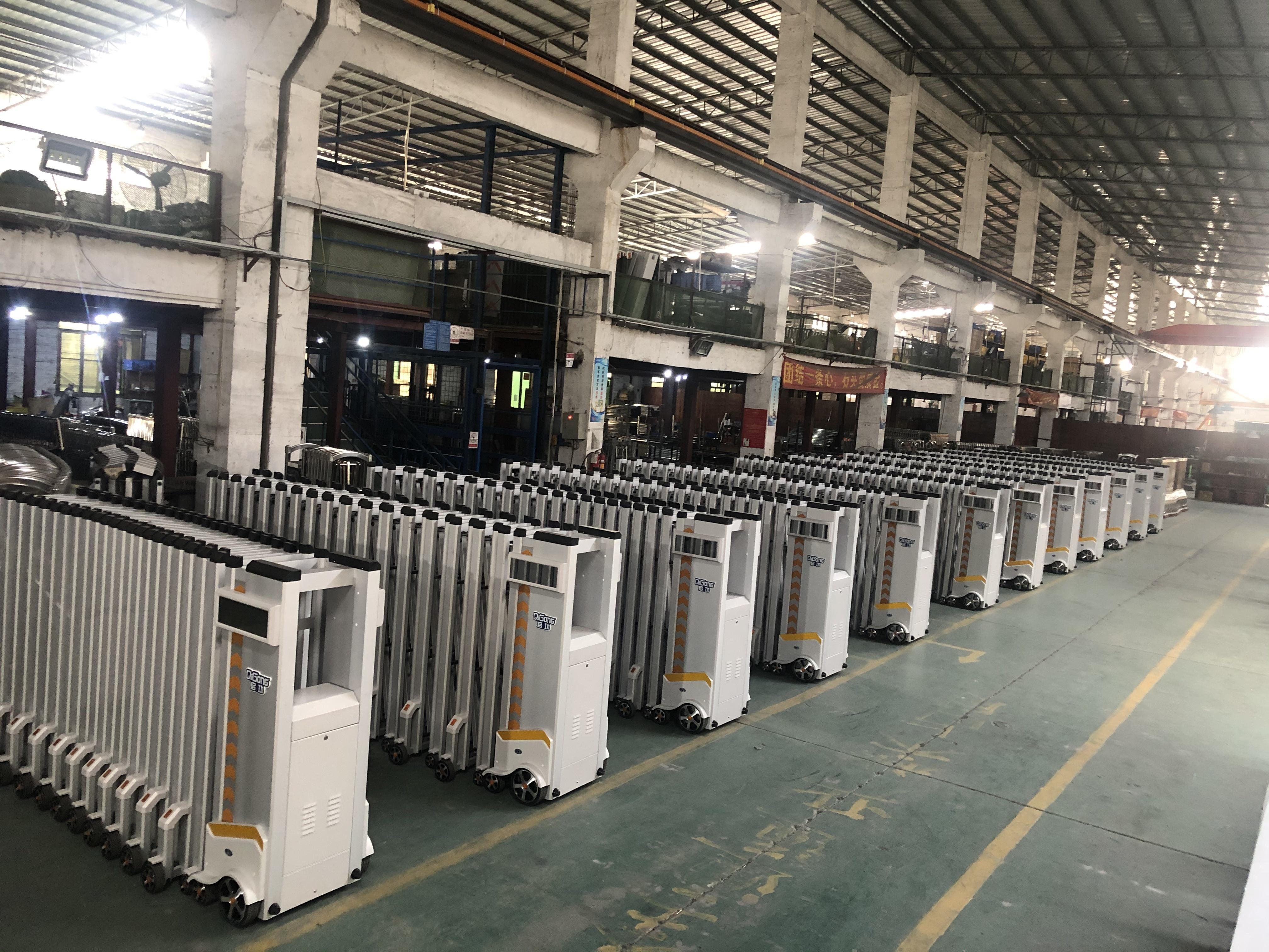 QIGONG Main Gate Stainless Steel Door Design for Factory Front Doors Designs QG-19