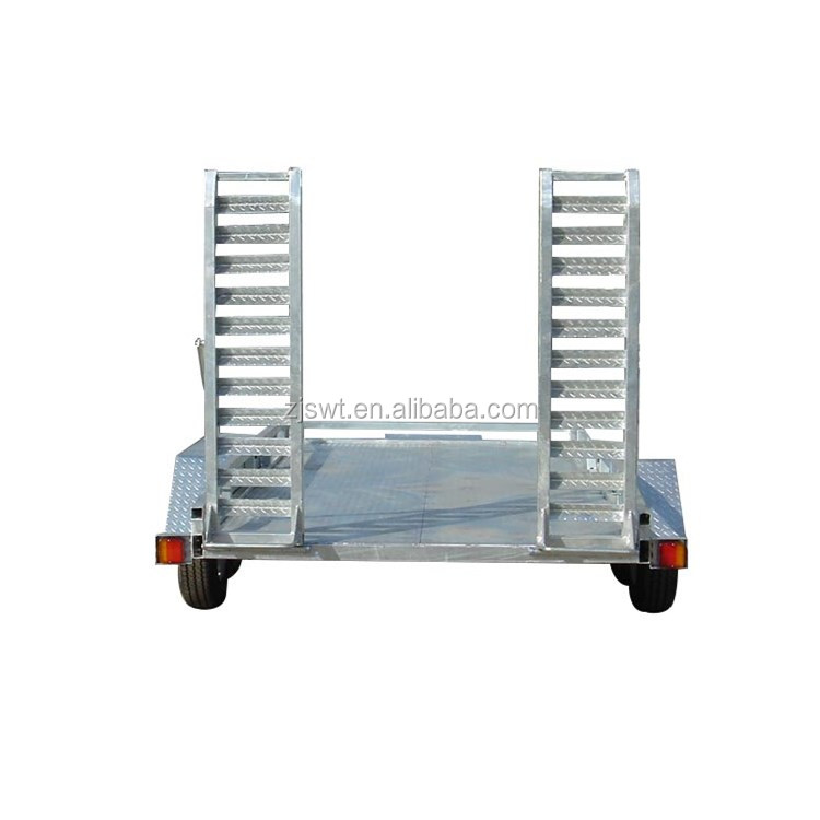 HOT GAL 13x6 รถ CARRIER TRAILER,ไฟฟ้า BRAKING,RATED 3.0T
