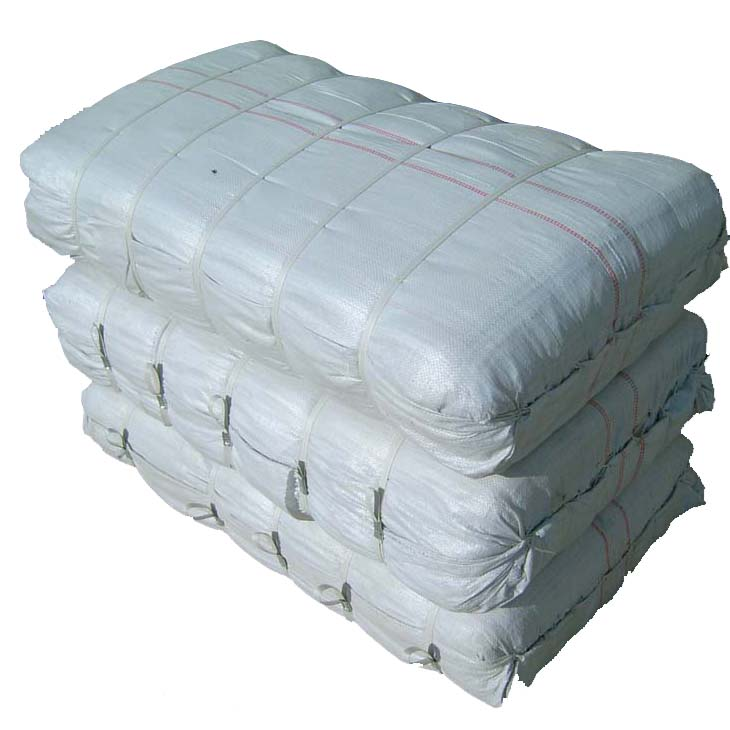 Dapoly 25kg 50kg high quality white color plastic polypropylene pp woven sack bags for grains rice flour