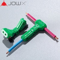 JOWX T-4 14-13AWG 2.5sqmm Non-stripped Wire Cable Wiring Connector T-Joint Quick Splice Crimp Terminals Made In Korea