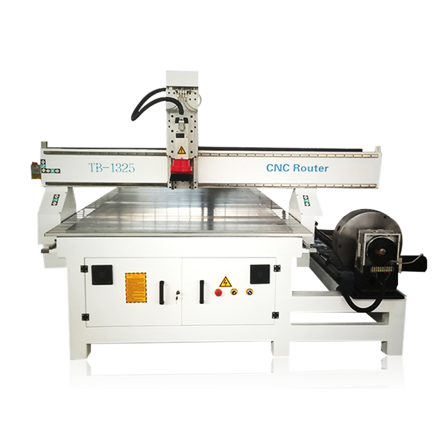 China cnc router 1325 hout snijmachine 1325 cnc router met roterende bevestiging