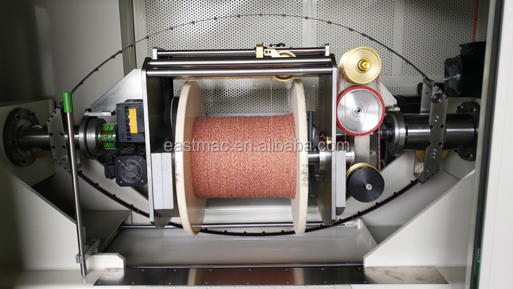 High Production Automatic Wire Twisting and Buncher Machine For Data Cable CAT7