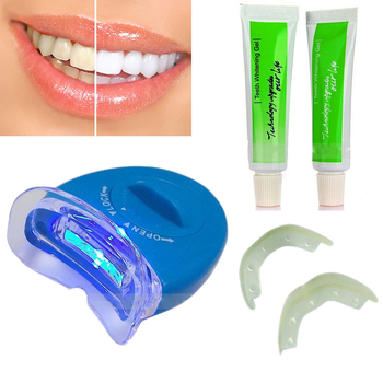 LED Light Teeth Whitening Tooth Gel Whitener Bright White Teeth for Personal Dental Treatment Health Oral Care Dentist