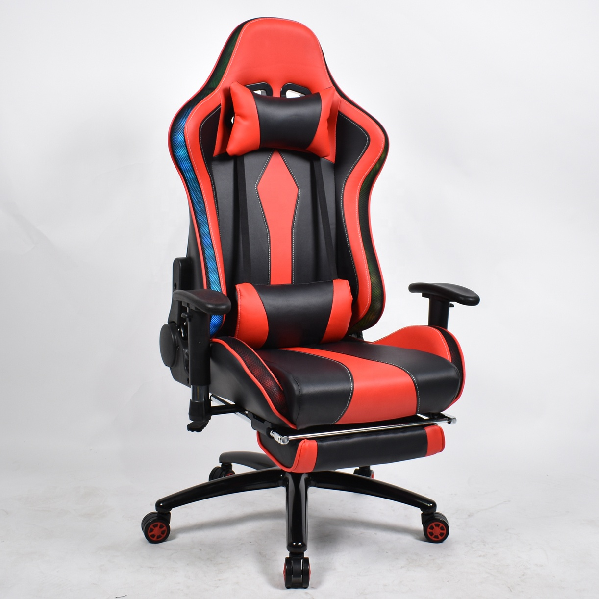 RGB LED Lighting Silla Gaming Chair For Game