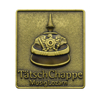 custom Top quality logo souvenir antique Gold plated badge lapel pin