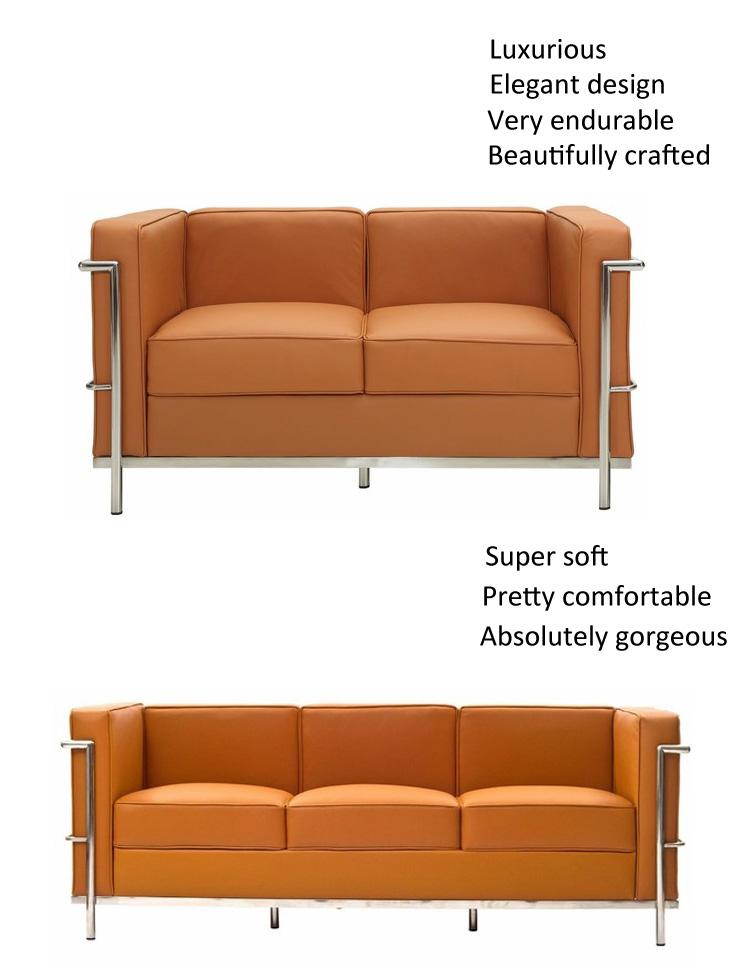 Muebles para el hogar gran Confort le corbusier sofá le corbusier LC4 chaise lounge silla