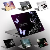 DIY custom laptop skin adhesive computer paper PVC Sticker Cover for dell RTS