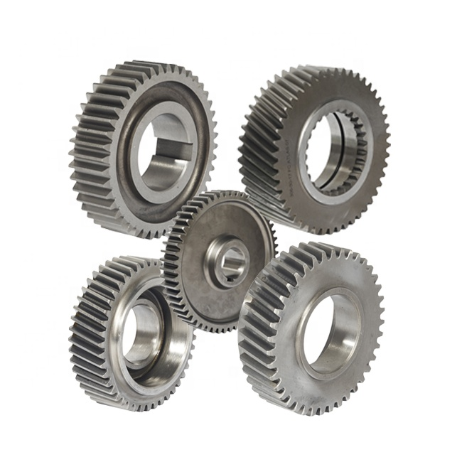 high precision atv parts helical straight teeth pinion bevel spur gears