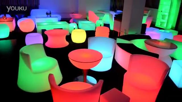 Glowing furniture 5050 RGB illuminated led bar counter
