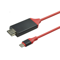 SIPU high speed 2m red hdmi to type c cable 4k 30Hz for Samsung