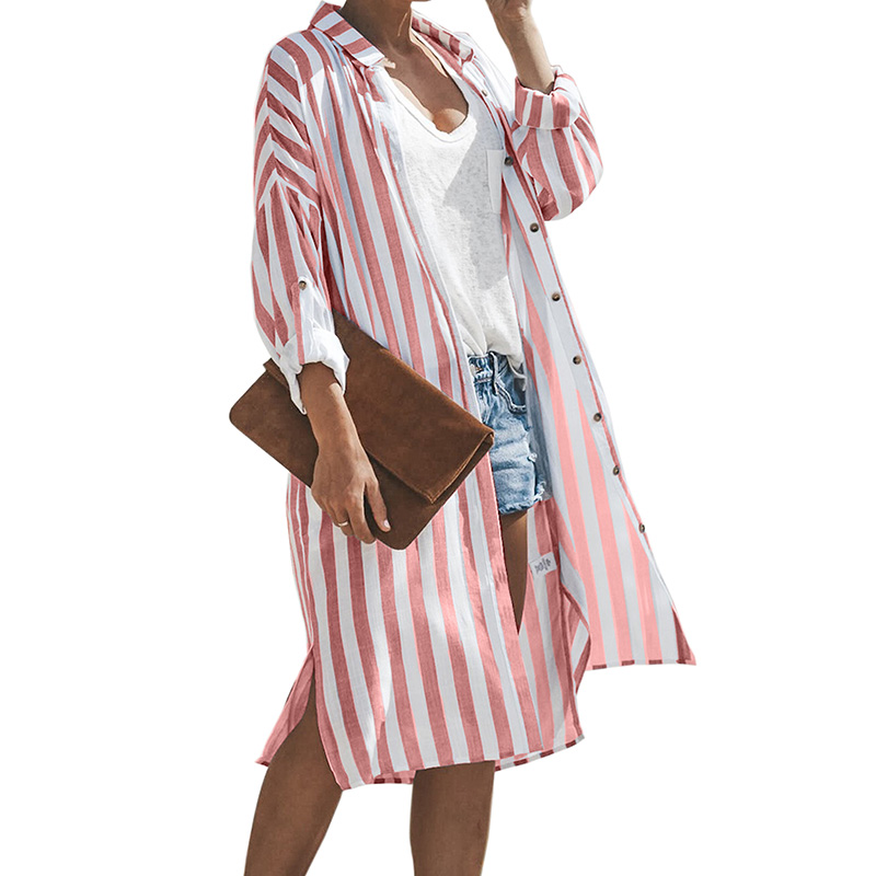Turtle Bay Pocketed Duster Cardigan Beachwear Women <strong>Bikini</strong> <strong>Cover</strong> <strong>Up</strong>