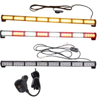 8 modules*4 led car strobe flashing light/led traffic advisor/advising emergency vehicle directional warning strobe light bar