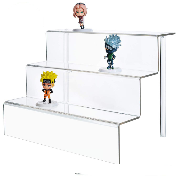 VONVIK Custom 3 Tier Acrylic Display <strong>Stand</strong>,Retail Store Countertop Plexiglass Display <strong>Stand</strong>