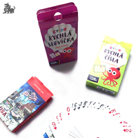 Custom Promotion Printed Trading Playing Card/Cards Game with Sleeves