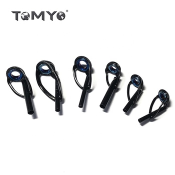 ToMyo Fishing Rod Ring Guides Eye Tips Component Telescopic Top Guide Rod Fishing