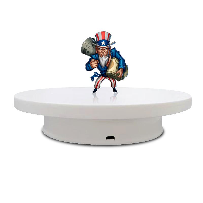 ターンテーブル-bkl 電気 360 ターンテーブル写真スタジオアクセサリージュエリーフォトキャプチャ