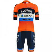 Профессиональный костюм для велосипедистов 2020 FANTINI NIPPO велосипедная команда одежда оранжевая одежда roadbike racing Джерси наборы ciclismo гелевая По...(Китай)