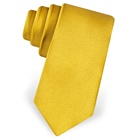 XINLI China Supplier Best Selling Plain Neck Tie Wholesale Solid Color Brand Silk Necktie High Quality Mens Ties in Gold