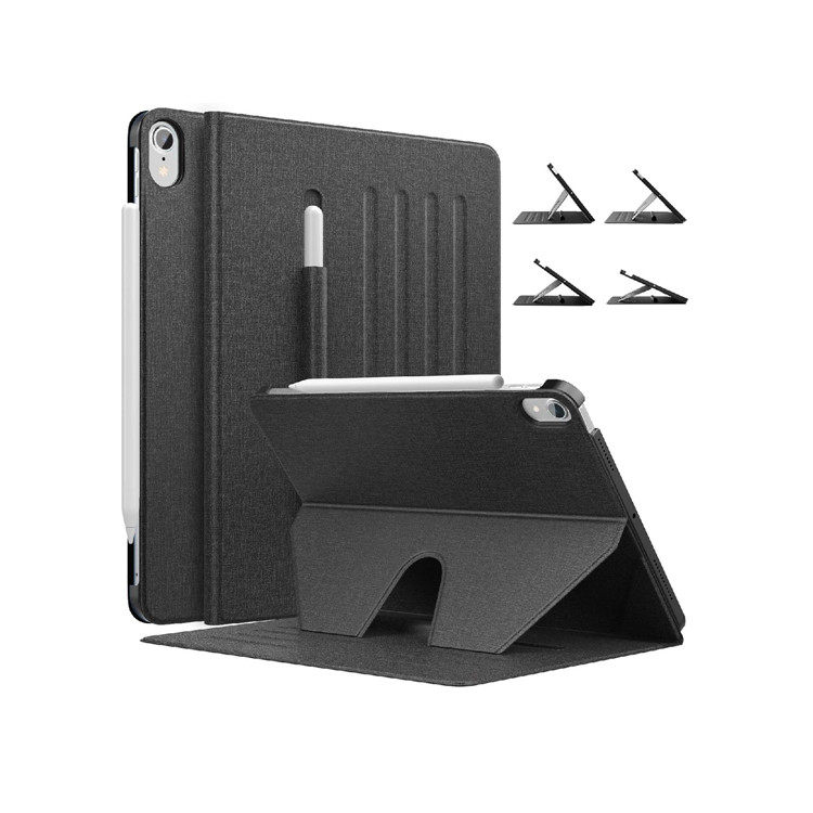 MoKo Smart Shockproof Protective Multi-Angle Magnetic Cover with Pencil Holder for iPad 10.9 2020/iPad Air 4
