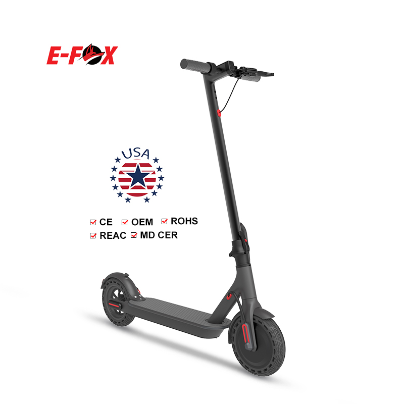 European warehouse delivery 8.5 inch 350W brushless motor 10.4A battery e electric mobility kick scooter electric adult scooter