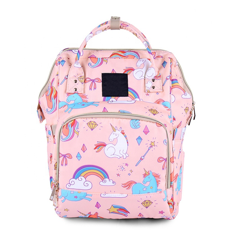 Twinkle multifunctional Waterproof fashion mummy travel mommy diaper bag backpack