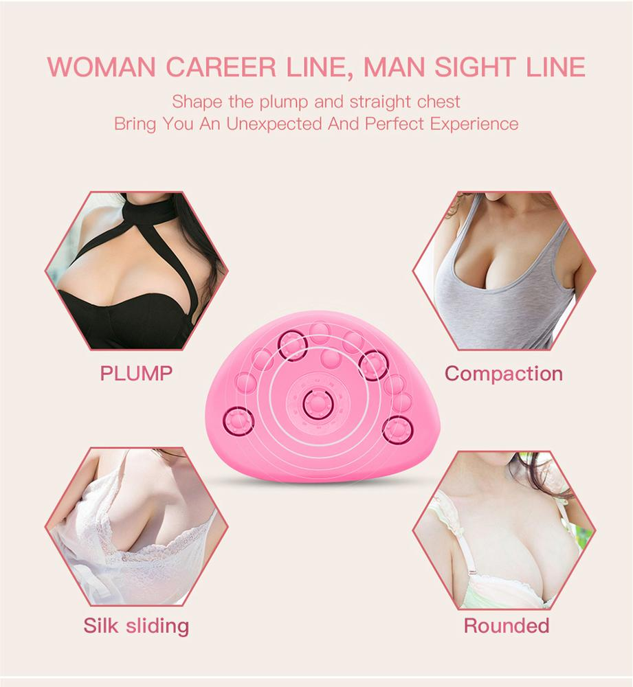 Personal care beauty product breast enhancer enlarger massager chest breast massage with APP