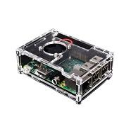 Enokay ABS חומר מיני מחשב מקרה עבור פטל Pi 2 דגם B פטל Pi 3b + מקרה