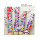30cm CONFETTI pink Mylar GENDER REVEAL cannon baby party popper favor 12 pcs