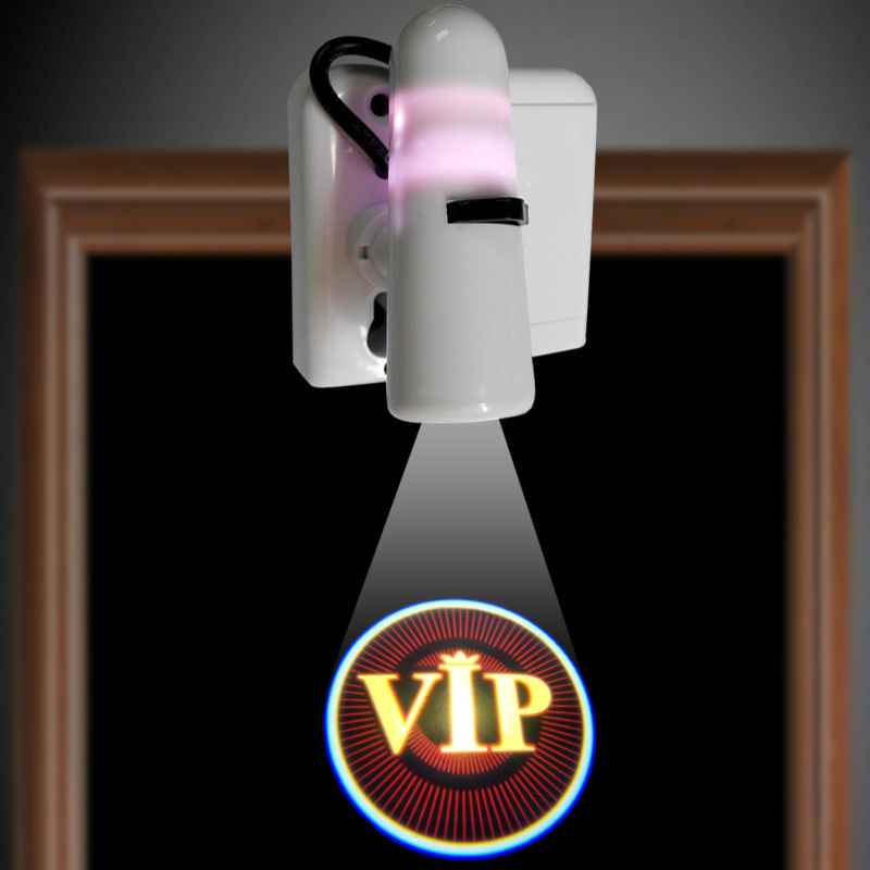 Home Door VIP Logo <strong>Projector</strong> Ghost Shadow Emblems Wireless Door Lights Led Laser Lamp Welcome Courtesy Lamp